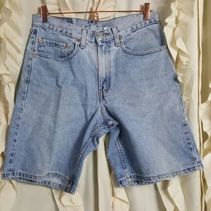 Vtg Levi's Strauss 550 Relaxed fit jean shorts